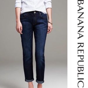 Banana Republic Boyfriend Jeans | Dark Wash Denim